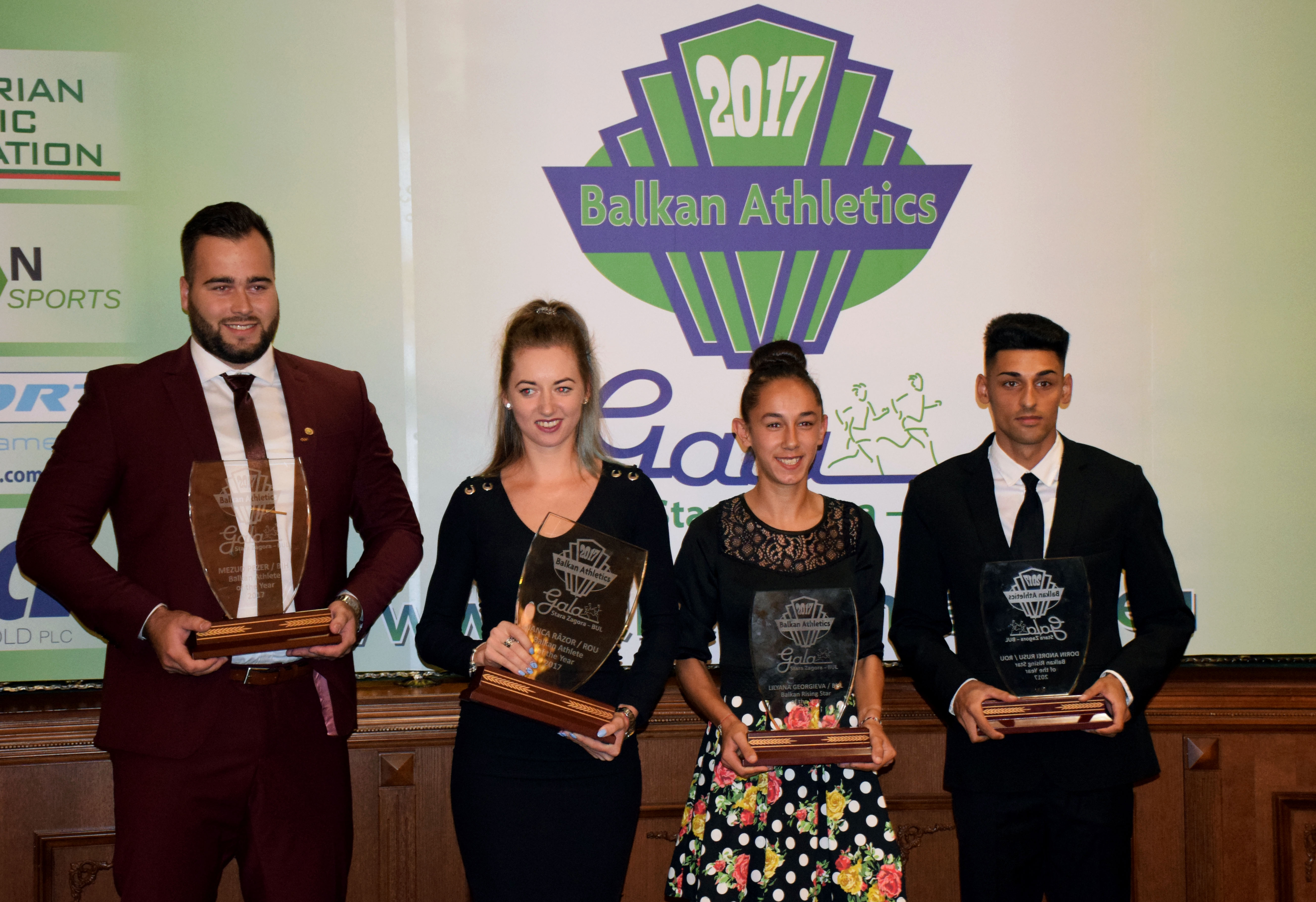 Mesud Pezer of Bosna and Herzegovina and Romanian Bianca Razor are the  Balkan Athletes of the Year. Rising Stars 2017 are middle & long distance  runners ...