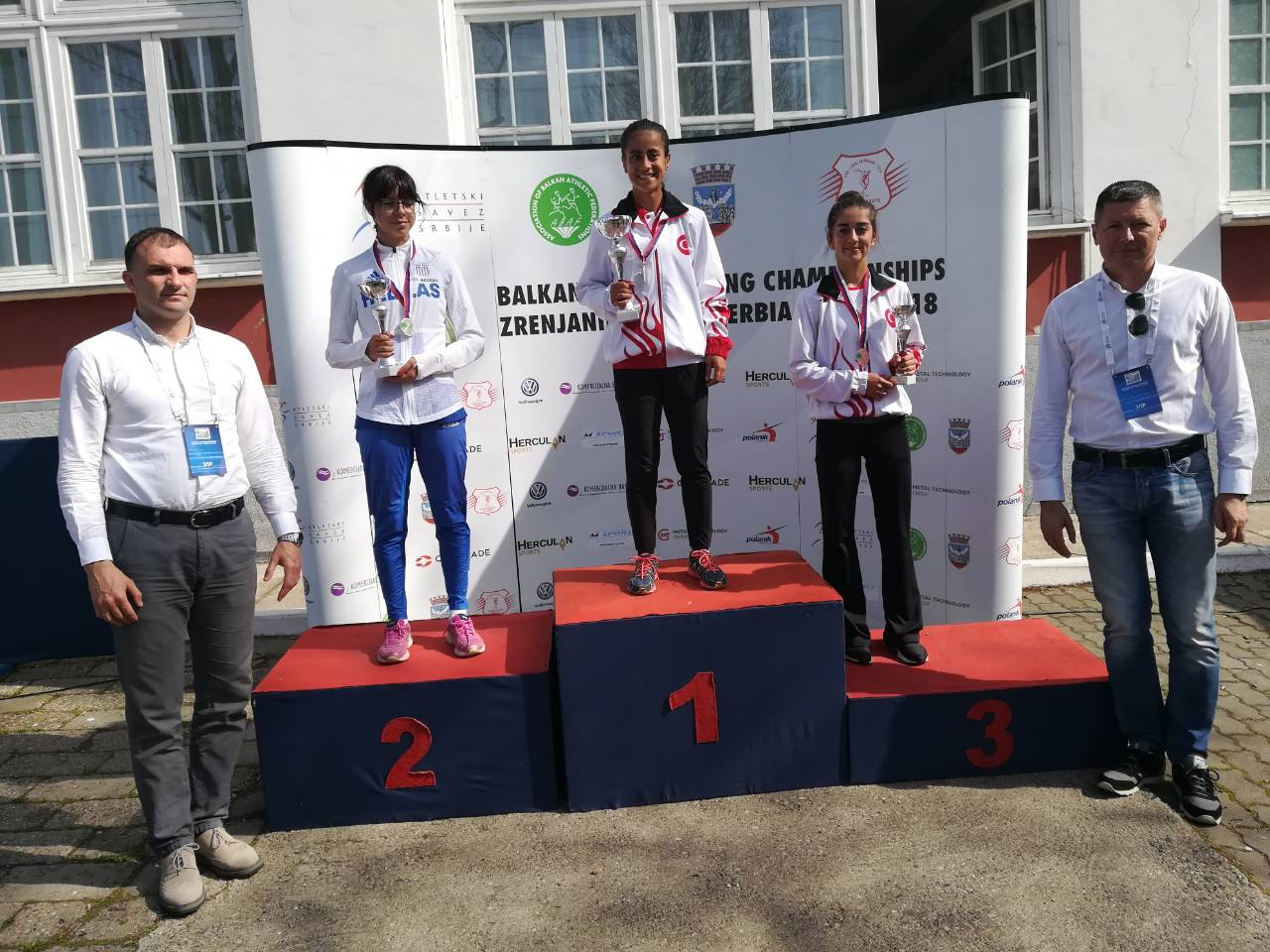 Slobodan Brankovic, CEO of Serbian Athletic Federation attended the  Championships and awarded medals to the U18 girls. The operations ran  smoothly under the ...